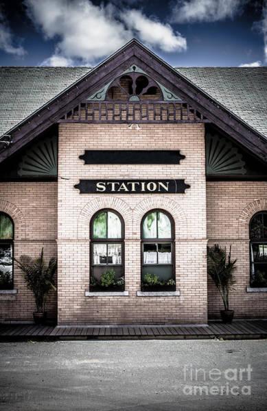 Windsor Wall Art - Photograph - Vintage Train Station by Edward Fielding