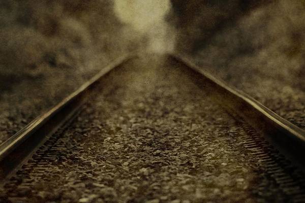 Photograph - Vintage Train Tracks by Dan Sproul