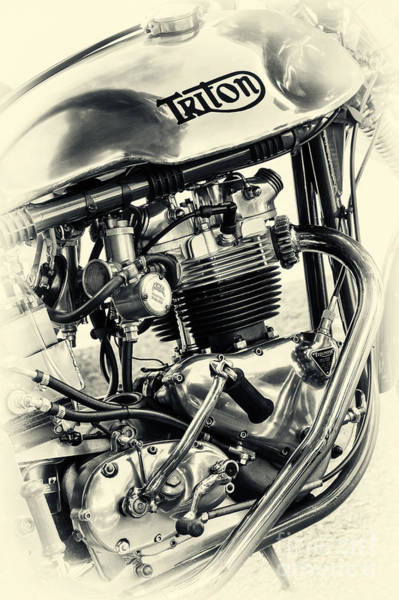 Photograph - Vintage Triton by Tim Gainey