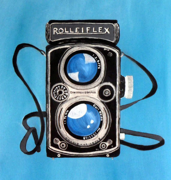 Dial Painting - Vintage View Camera by Karyn Robinson