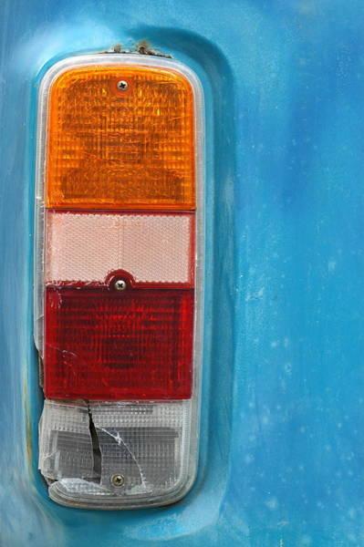 Wall Art - Photograph - Vintage Volkswagen Van Light by Mr Doomits
