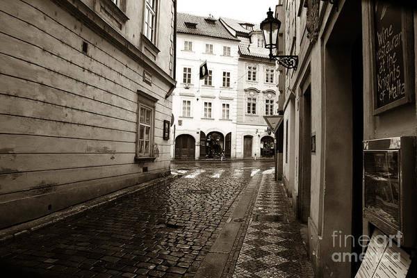 Wall Art - Photograph - Vintage Walk In Prague by John Rizzuto