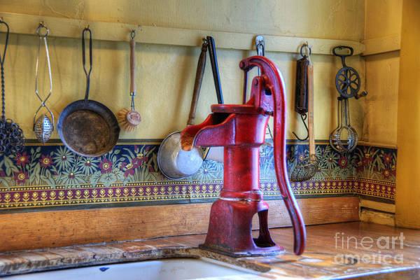Faucet Photograph - Vintage Water Pump by Juli Scalzi