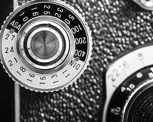 Lenses Photograph - Vintage Yashica 635 Camera - Asa Dial by Jon Woodhams