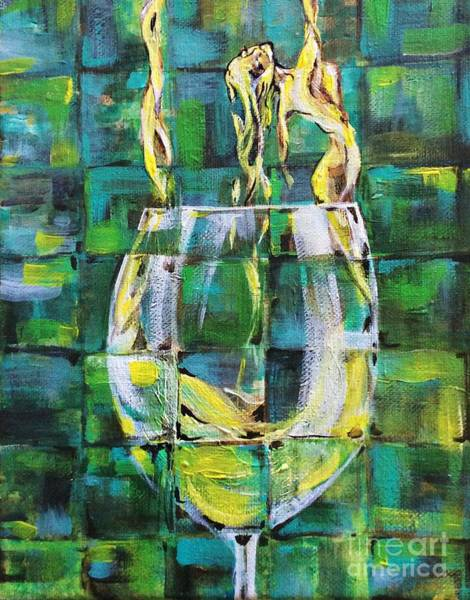 Painting - Viognier by Lisa Owen-Lynch