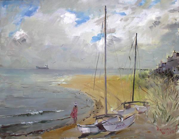 Virginia Wall Art - Painting - Viola In Virginia Beach by Ylli Haruni