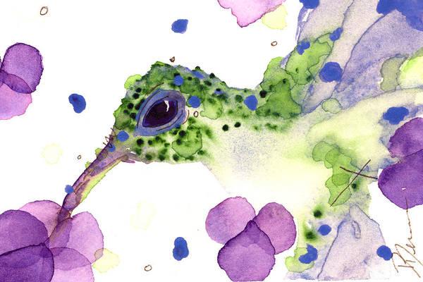 Painting - Violet by Dawn Derman