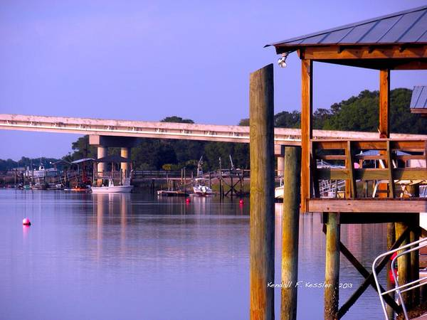 Photograph - Violet Evening At Isle Of Palms by Kendall Kessler