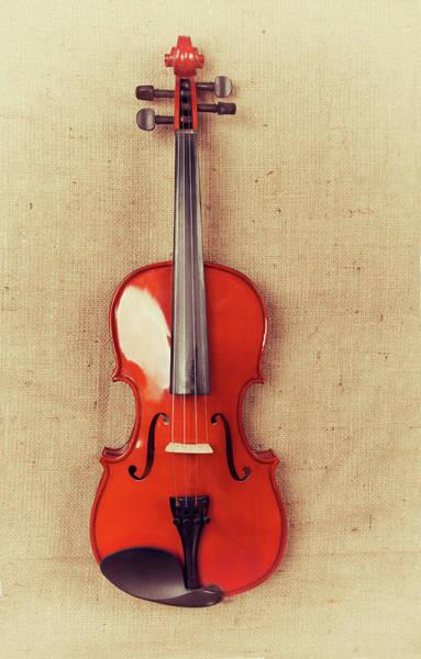 Chord Wall Art - Photograph - Violin by Baytunc