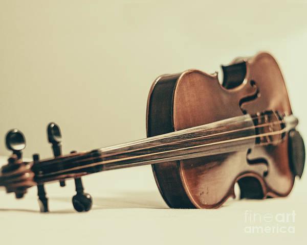 Violin Wall Art - Photograph - Violin by Emily Kay
