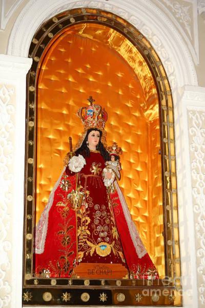 Photograph - Virgen De Chapi Arequipa by James Brunker