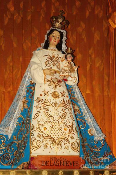 Photograph - Virgen De Las Nieves by James Brunker