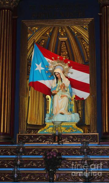 Photograph - Virgin Mary In Church by George D Gordon III