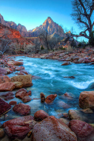 Laura Palmer Wall Art - Photograph - Virgin River Before The Watchman by Laura Palmer