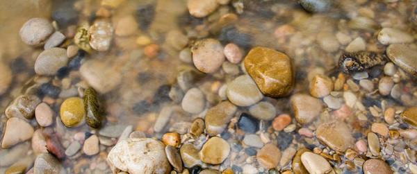 Photograph - Virgin River Pebbles by Adam Pender