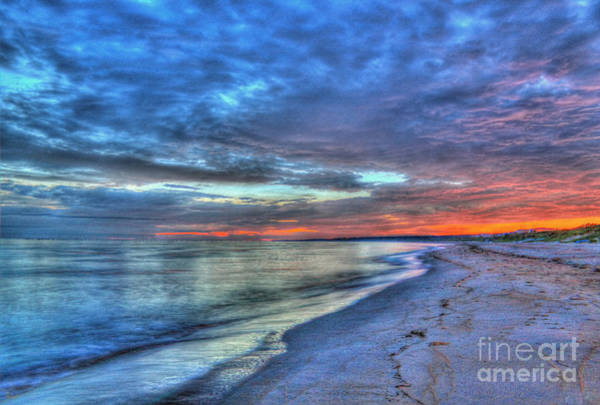 Photograph - Virginia Beach Sunrise Hdr by Jeff Breiman