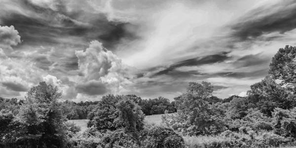 Photograph - Virginia Clouds by Guy Whiteley