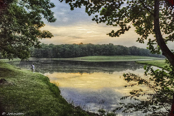 Photograph - Virginia Lynchburg Thousand Trails Sunset by Bob and Nadine Johnston