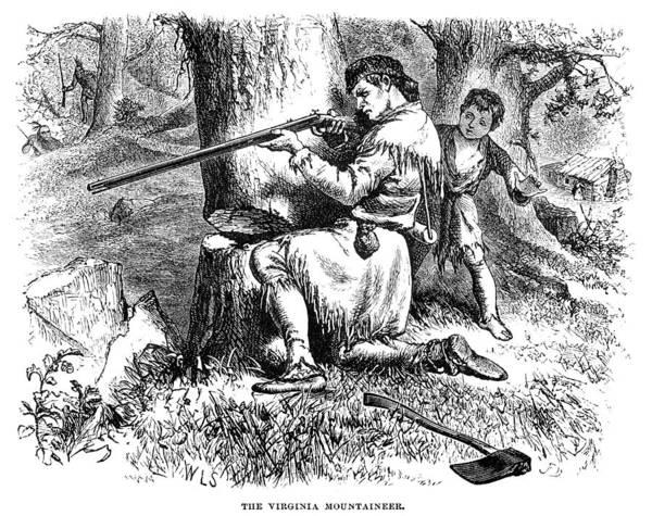 Militiaman Photograph - Virginia Mountaineer by Granger