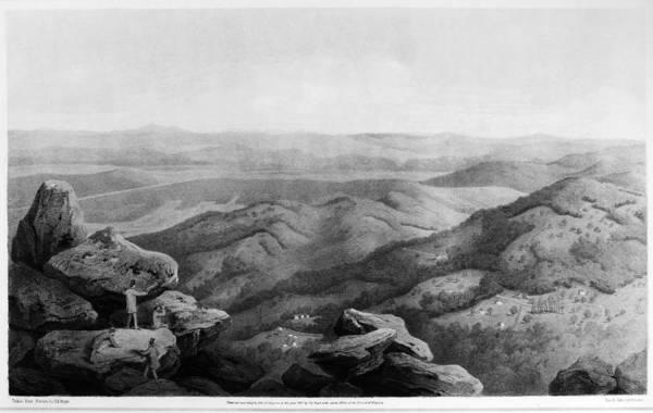 Painting - Virginia Peaks Of Otter by Granger