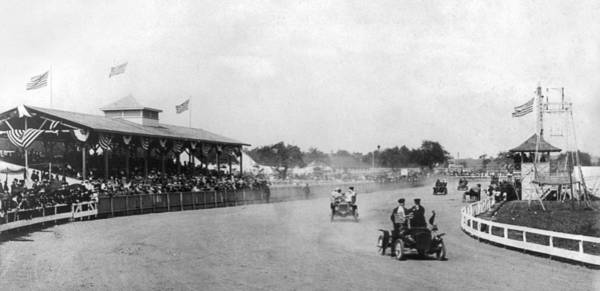 Photograph - Virginia Racetrack, C1905 by Granger