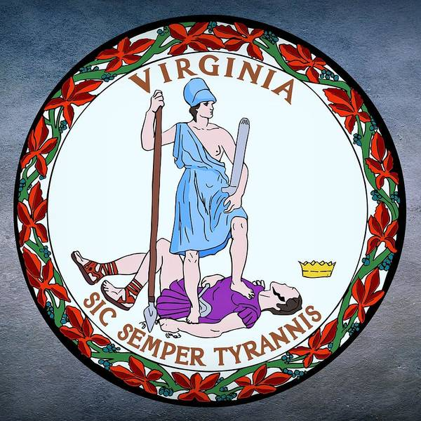 Digital Art - Virginia State Seal by Movie Poster Prints