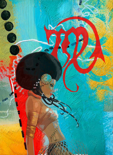 Esoteric Painting - Virgo by Corporate Art Task Force