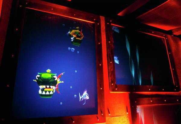 Fish Tank Photograph - Virtual Fish Tank by Sam Ogden/science Photo Library