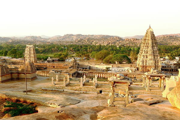 Karnataka Photograph - Virupaksh Temple, Hampi by Rbb