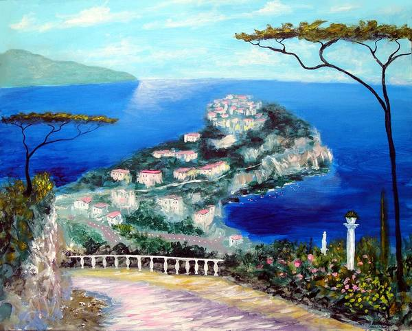 Painting - Vision Of Bliss by Larry Cirigliano