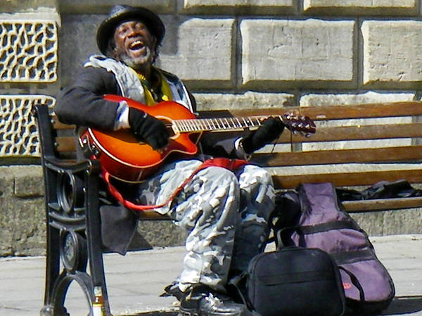 Robert Ford - Vision of Ecstasy from Itinerant Street Musician at Bath Somerset England