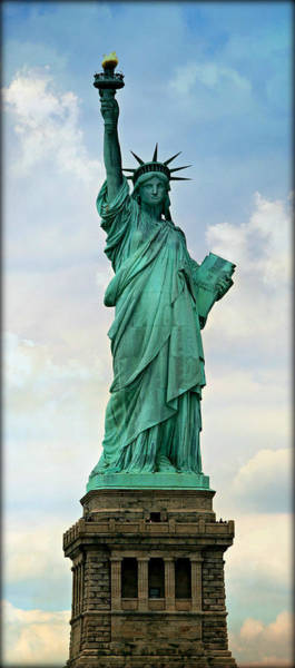 Statue Of Liberty National Monument Wall Art - Photograph - Visions Of Liberty No 1 by Stephen Stookey