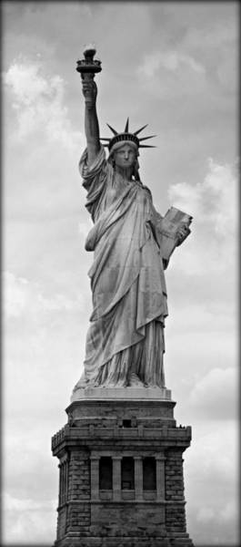 Statue Of Liberty National Monument Wall Art - Photograph - Visions Of Liberty No 3 by Stephen Stookey