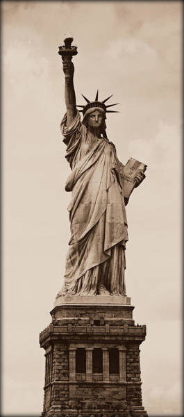Statue Of Liberty National Monument Wall Art - Photograph - Visions Of Liberty No 4 by Stephen Stookey