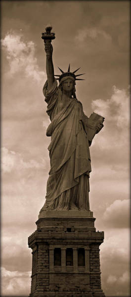 Statue Of Liberty National Monument Wall Art - Photograph - Visions Of Liberty No 5 by Stephen Stookey