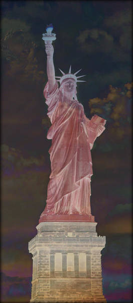 Statue Of Liberty National Monument Wall Art - Photograph - Visions Of Liberty No 6 by Stephen Stookey