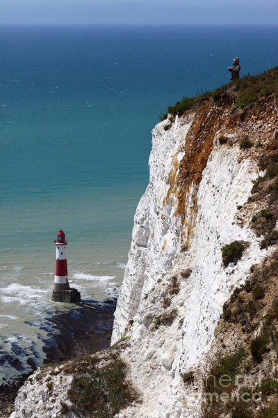 Photograph - Visiting Beachy Head by James Brunker