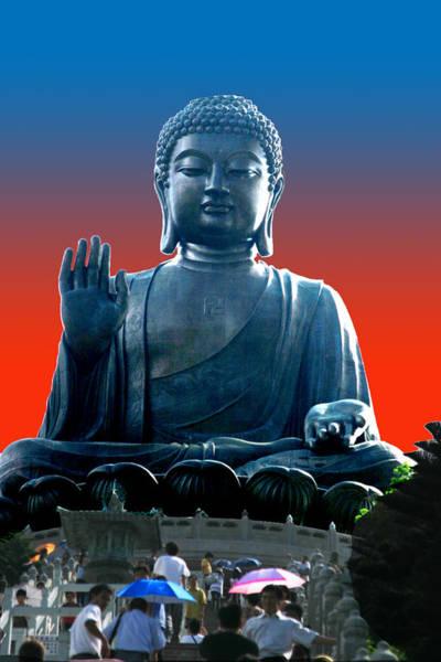Wall Art - Photograph - Visiting Buddha by Frank Savarese