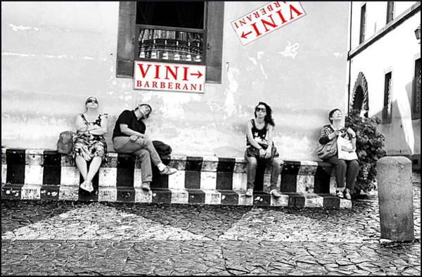 Wall Art - Photograph - Visitors by Valentino Visentini