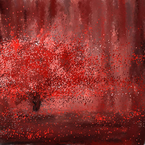 Painting - Visually Empowered- Marsala Art by Lourry Legarde