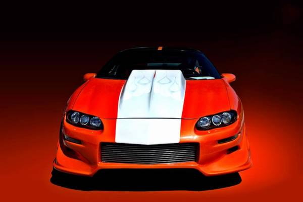 Photograph - Vitamin C 2002 Camaro Z28 by Tim McCullough