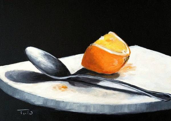 Wall Art - Painting - Vitamin C by Torrie Smiley