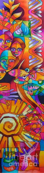 Painting - Viti Tolu - Fiji IIi by Maria Rova