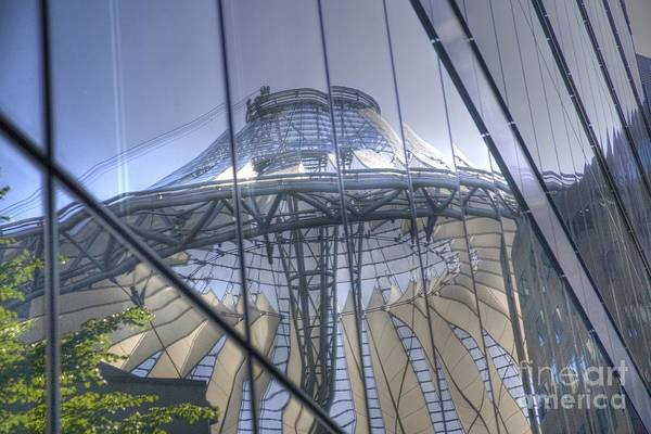 Sony Center Photograph - Vitreous Architecture by Heiko Koehrer-Wagner