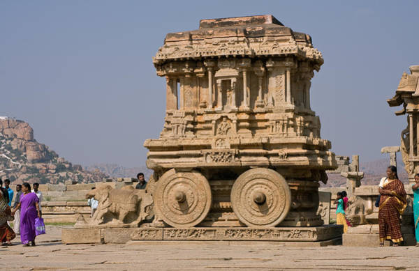 Photograph - Vitthala Temple by Maria Heyens