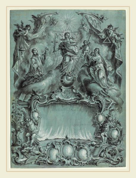 Wall Art - Drawing - Vitus Felix Rigl German by Litz Collection