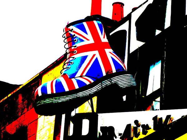 Wall Art - Photograph - Viva Camden Town London Boots  by Funkpix Photo Hunter