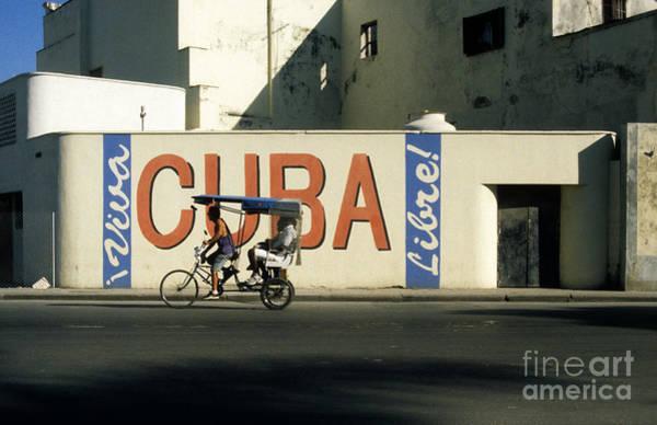Photograph - Viva Cuba Libre by James Brunker