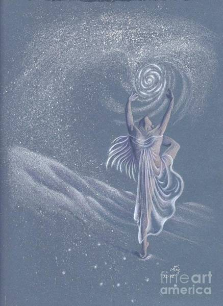 Painting - Vivaldi The Four Seasons Winter      by Elizabeth Dobbs