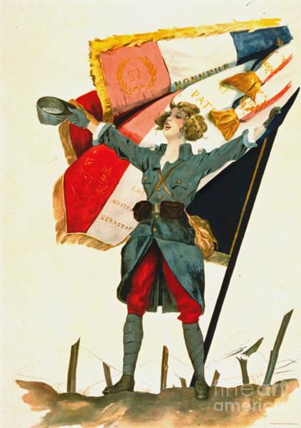 Vive La France Wall Art - Photograph - Vive La France 1918 by Padre Art